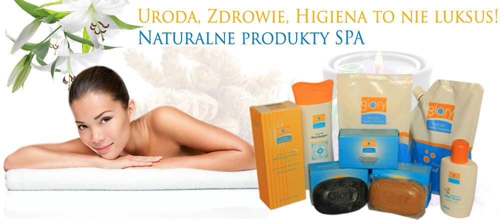 Naturalne produkty SPA