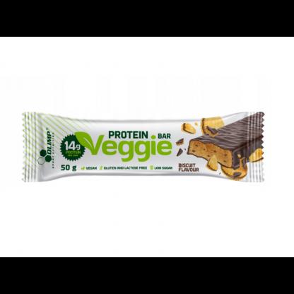 Olimp Veggie Protein Bar - baton proteinowy 50g. Biscuit