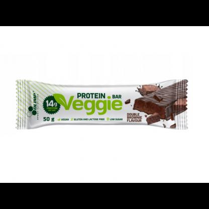 Olimp Veggie Protein Bar - baton proteinowy 50g. Brownie